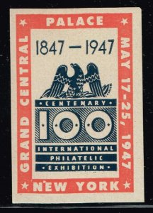 US STAMP ADS, SHOW, CONVENTION, PATRIOTIC LABEL POSTER STAMP COLLECTION LOT  #7