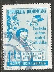 Dominican Republic RA62 VFU Z682-1