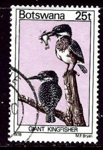 Botswana 207 Used 1978 Birds    (ap6210)