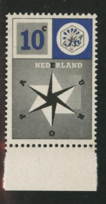 Netherlands Scott 372 MNH** 1957 United Europe stamp