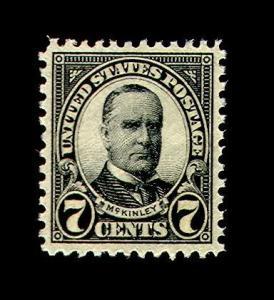 momen: US Stamps #639 Mint NH OG PSE Graded 95