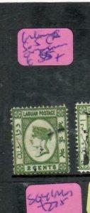 LABUAN   (P3110BB)  QV  2C  SG 5C   VFU