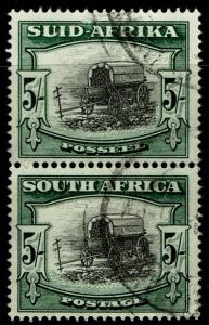 South Africa 64 pair Used - Ox Wagon (1933)