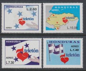 Honduras C1149-C1152 MNH VF