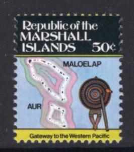 Marshall Islands 49 Map MNH VF
