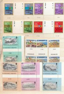 Guernsey Scouts Disabled Goats Arms MNH(Appx 45+Stamps) (Ref DD745