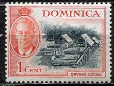 Dominica; 1951; Sc. # 123; */MH Single Stamp