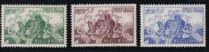 South Viet Nam - 1955 - SC 27 - 29 - MNH - White Gum - Extremely Fine