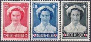 Belgium #B535-7  F-VF Unused  CV $55.50  Z197