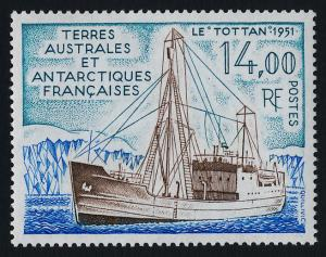 French Antarctic Territory 171 MNH Supply Ship Tottan