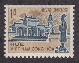Viet Nam (South) # 250A, Royal Tomb Coil Stamp, 1/2 Cat.