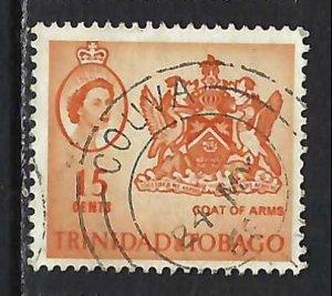 TRINIDAD & TOBAGO 116 VFU ARMS V245-8