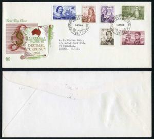 Australia SG398/403 Decimal Navigators on SUPERB Illustrated First Day Cover