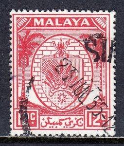 Malaya (Negri Sembilan) - Scott #47 - Used - SCV $3.25