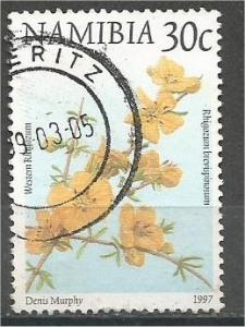 NAMIBIA, 1997, used 30c Fauna and Flora, Scott 856