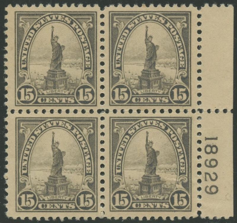#566 BLOCK OF 4 VF OG (3)NH (1)LH BS3349