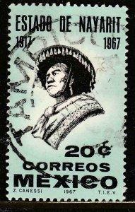 MEXICO 978, 50th Anniversary of Nayarit Statehood Used  VF. (538)