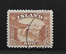 ICELAND, 174, USED, GULLFOSS FALLS