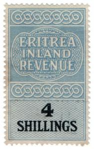 (I.B) BOIC (Eritrea) Revenue : Duty Stamp 4/-