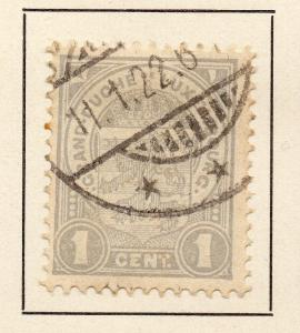Luxembourg 1906-08 Early Issue Fine Used 1c. 231470