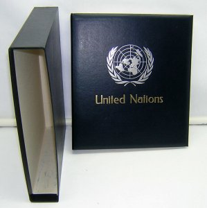 DAVO: United Nations Singles 1951-87 Complete w/Sip Case - NEW/NO STAMPS