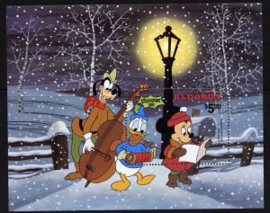 Redonda MIBK 13 MNH Christmas 1981, Disney, Music