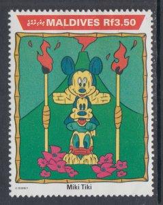 Maldive Islands 1648 Disney's MNH VF