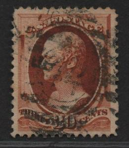 $US Sc#217 used, VF-XF, Cv. $90