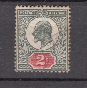 J27538 1902-11 great britain used #130 king