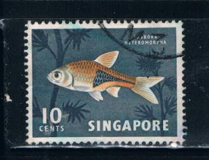 Singapore  57 Used Tropical Fish (S0270)