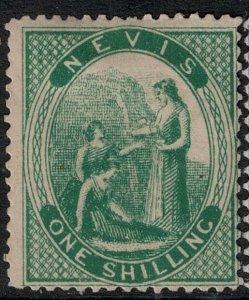 Nevis 1876 SC 17 Mint SCV $100.00
