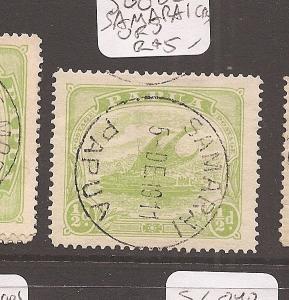 Papua Official SG O38 Samarai CDS VFU (9azq)