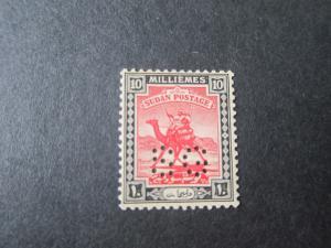 Sudan 1927 SG O28 MH