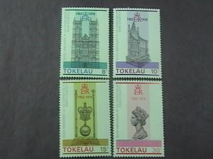 TOKELAU # 61-64 -MINT NEVER/HINGED-COMPLETE SET---QEII----1978
