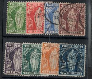 Virgin Islands 1899 SC 21-28 Used Set SCV $170