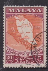 Federation of Malaya Sc#83 Used