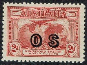 AUSTRALIA 1931 AIRMAIL OS 2D MNH **