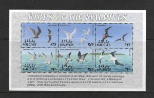 BIRDS - MALDIVES #2624  MNH
