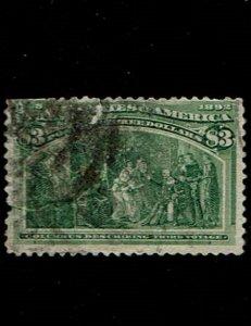 Scott #243 Fine-used. SCV - $750.00