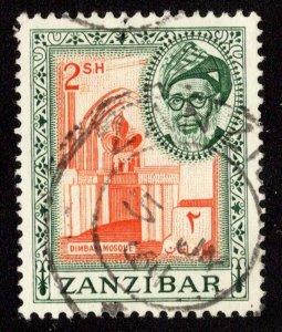 Zanzibar Scott 260 Used.