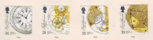 Great Britain  Sc 1489-2 1993 Chronometer stamps used