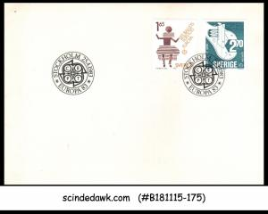 SWEDEN - 1983 GREAT ACHIEVEMENTS OF HUMAN GENIUS - 2V - FDC