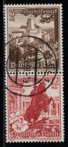 Germany Scott # B123, B128, used, se-tenant, Mi # S251