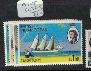 British Indian Ocean Territory SG 32-5 MNH (1edi)