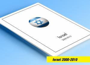COLOR PRINTED ISRAEL 2000-2010 STAMP ALBUM PAGES (68 illustrated pages)