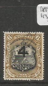 North Borneo 1899 SG 113 VFU (3cxz)