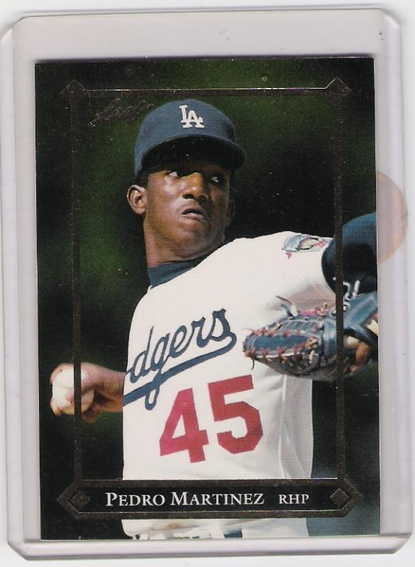 1992 Leaf Pedro Martinez Rookie Card Hipstamp