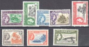 Gilbert & Ellice / 1956 - OG Mint NH - SC# 61-68