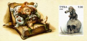 TUVA SHEET IMPERF GNOMES GOBLINS
