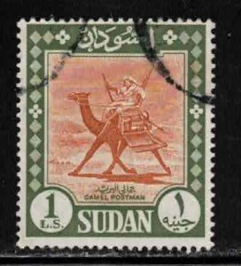 SUDAN Scott # 159 Used 2 - Postman On camel